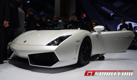 Geneva 2012 Lamborghini LP550-2 Spyder