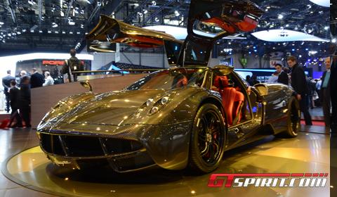Geneva 2012 Pagani Huayra Clear Carbon Edition