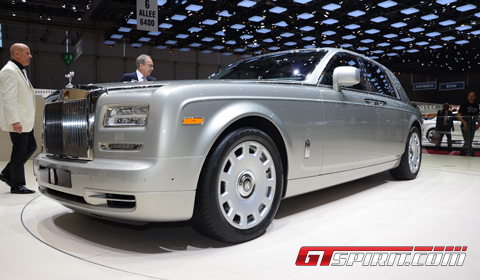 Geneva 2012 RollsRoyce Phantom Series II  GTspirit