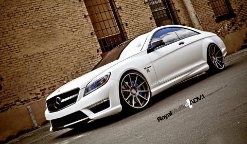 Mercedes benz cl 63 amg with adv 1 wheels gtspirit for 2012 mercedes benz cl63 amg