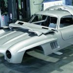 Mercedes-Benz Classic Destroys Replica Body of Mercedes-Benz 300 SL