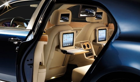 Official Bentley Mulsanne Gets Theatre And IPad Spec Interior