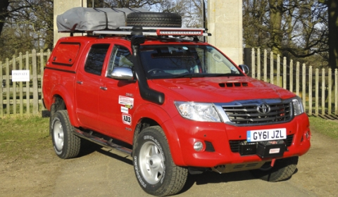 Toyota Hilux and Top Gear Team up Again for Another Challenge