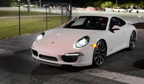 Video 2012 Porsche 911 991 Carrera S Runs 1204 on Quarter Mile