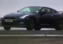 Video Nissan GT-R vs Porsche 911 Carrera S by Tiff Needell