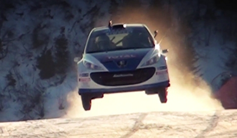 Video Peugeot 207 Super 2000 at Zoncolan Mountain Race