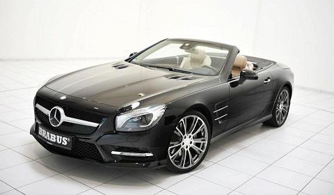 Brabus Start Work on 2012 Mercedes-Benz SL 500