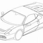 Eric Clapton's Ferrari SP12 Patent Drawings