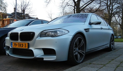 F10 BMW M5 with Performance Accessories