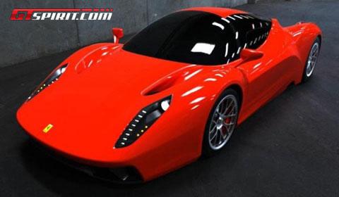 Design Study F70 Ferrari Enzo Successor - GTspirit