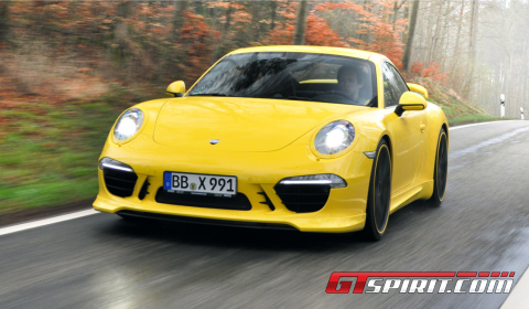 First Drive TechArt Program for 2012 Porsche 911 (991) 01
