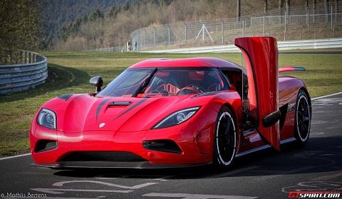Koenigsegg Agera R Sets 402km/h Top Speed on Nurburgring ...