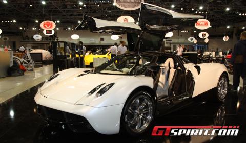 Monaco 2012 Pagani Huayra White Edition Gtspirit