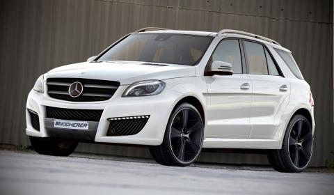 Official Mercedes-Benz ML Class Impact by Kicherer