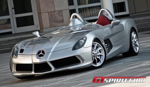 History of the Mercedes-Benz SLR McLaren - GTspirit