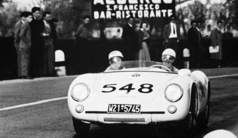 Porsche Museum at Mille Miglia 2012