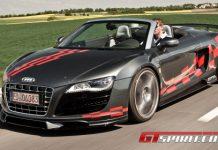 Road Test MTM Audi R8 V10 Spyder