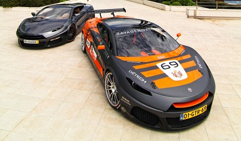 Savage Rivale Roadyacht GTS and GTR in Monaco! - GTspirit