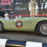Stirling Moss and Norman Dewis Recreated Jaguar History in Mille Miglia 2012