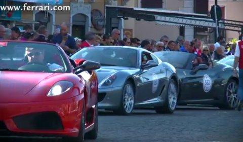 Video Ferrari Tribute to Mille Miglia 2012