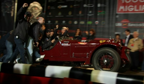 Winners of the Mille Miglia 2012