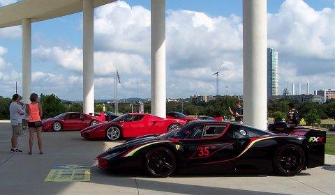 Formula Expo Ferrari Festival Car Show In Austin GTspirit - Ferrari car show