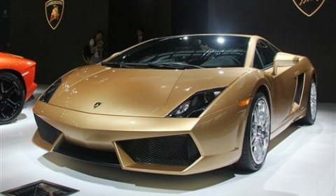 Official Lamborghini Gallardo LP560 4 Gold Edition   China Only