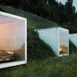 Submerged Porsche Parking in Switzerland