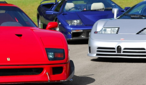 Supercar Sunday at Brooklands Museum in July
