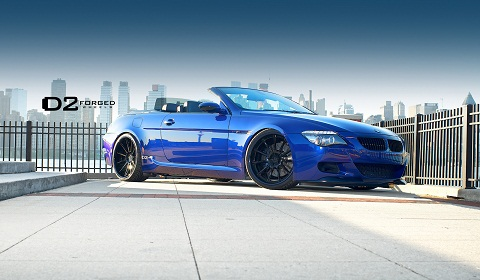 BMW M6 Convertible on D2Forged Wheels