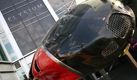 Bugatti Spaceship at Comic-Con 2012