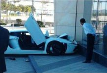 Lamborghini Aventador Crash in Macau