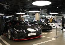 London Motor Museum Supercar Paddock