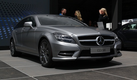 mercedes benz cls 500 shooting brake live at goodwood. Black Bedroom Furniture Sets. Home Design Ideas