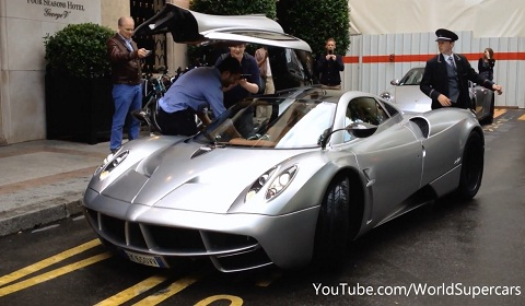 Pagani Huayra Spotted in Paris