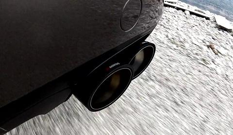 Porsche Cayenne Turbo with Akrapovic Evolution Exhaust