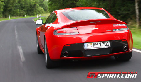 Road Test 2012 Aston Martin V8 Vantage Facelift 01
