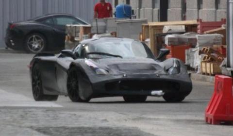 Spyshots 2013 Ferrari F70 - Enzo Successor Near Factory