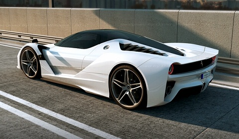 2013 Ferrari F70 Renderings