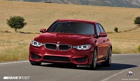 2014 BMW M3 Renderings