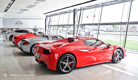 Dealer Visit SF Motors in Prague Czech Republic