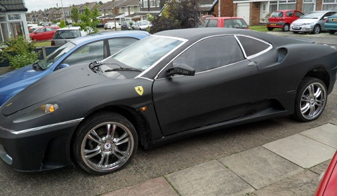 Ferrari F430 Replica Based on Peugeot 406 Coupe
