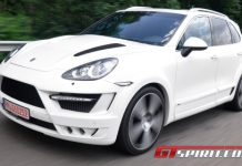 JE Design Widebody Kit for Porsche Cayenne 958