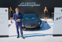 Lamborghini Announces its 50th Anniversary Celebration Plans in California