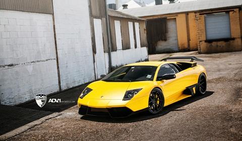 Liberty Walk Lamborghini Murcielago On Adv 1 Wheels
