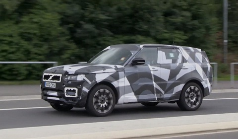 Range Rover Sport Spyvideo