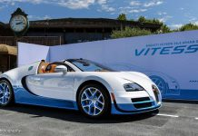 Special Edition Bugatti Veyron Grand Sport Vitesse at Monterey 2012