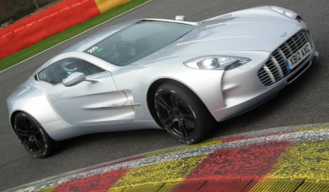 Aston Martin Trackday 2012 at Spa Francorchamps