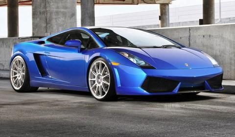 Lamborghini gallardo blue