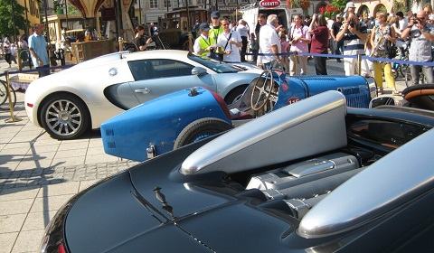 Bugatti Festival 2012 in Molsheim